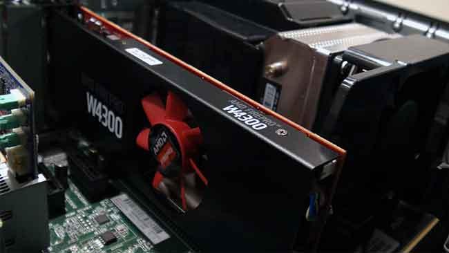 FirePro W4300 in the HP Z240 SFF