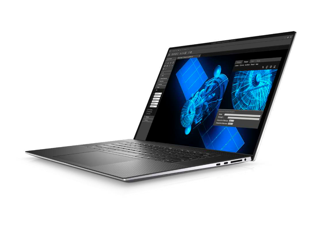 Dell's new Precision 5750 is a 17-inch mobile workstation in a 15-inch chassis
