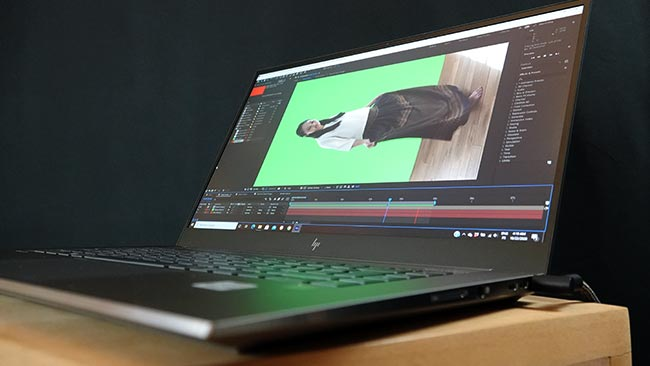 The ZBook Studio G7 targets creative professionals and their toughest applications